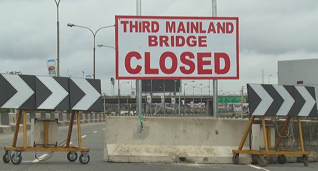 Third Mainland Bridge to remain closed beyond Monday