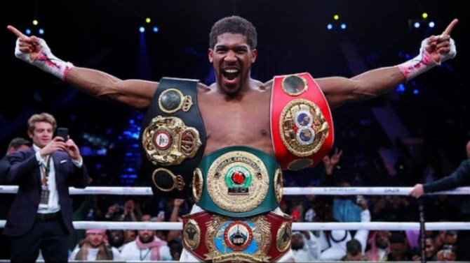Anthony Joshua becomes UK's richest boxer