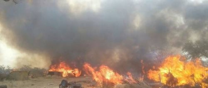 Two Children Killed As Fire Guts IDPs' Camp In Borno