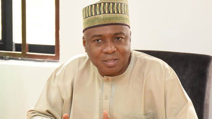 JUST IN: Saraki-led PDP reconciliation committee in closed door session with former govs