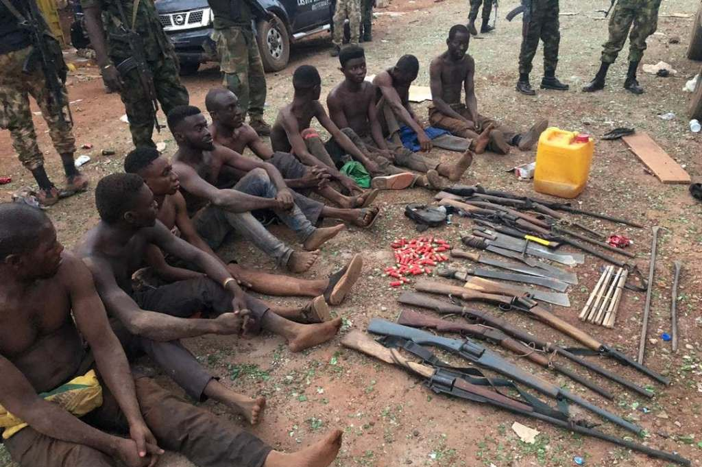 Benue communal crisis: Military arrest 10, recovers 16 firearms, others
