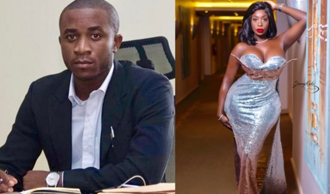American stripper, Symba declares her love for Nigerian convicted fraudster, Invictus Obi