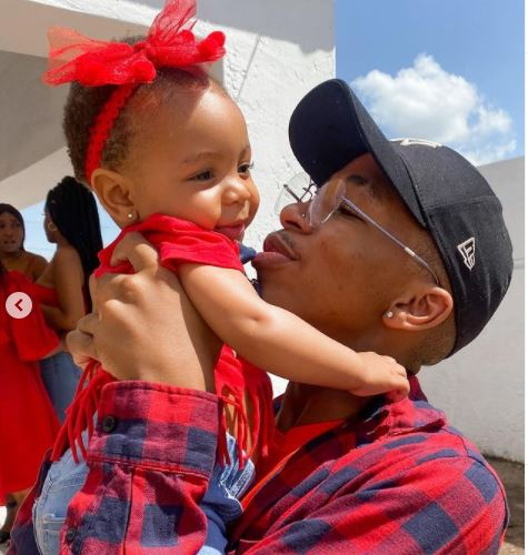 Lasizwe celebrate his daughter as she clocks one