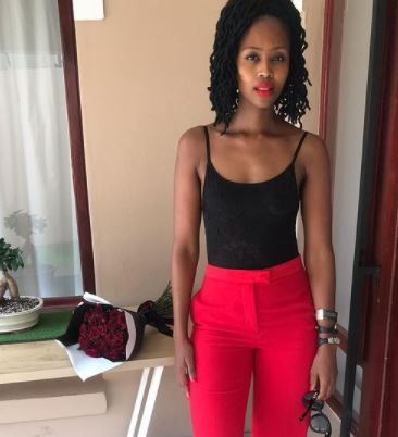 Lesego Tshepang shares adorable picture of herself when she was very little