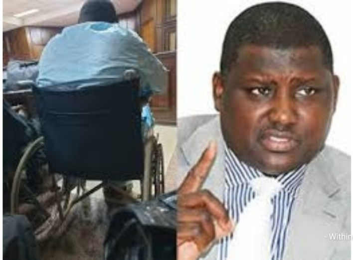 My leg might be amputated if I don't get bail, Maina cries out