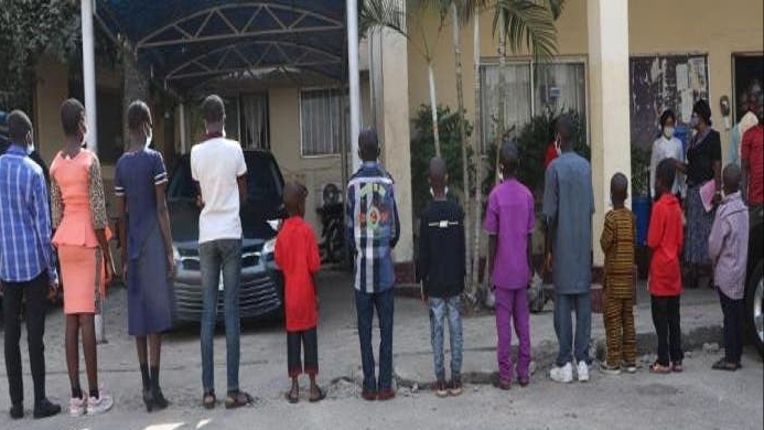 15 trafficked children reunited with their parents in Niger