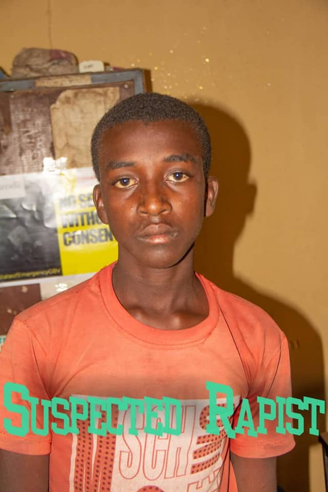 PHOTO: Young man arrested for stabbing, raping 18-year-old girl in Bauchi
