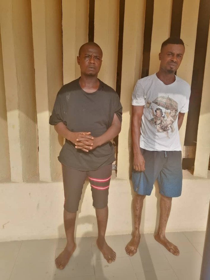 Police arrest three suspected cultists for allegedly killing two men in Okija