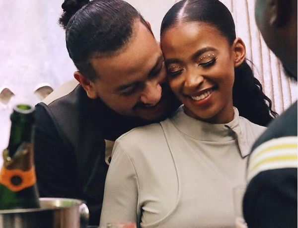 """AKA claims his fiancee, Nelli doesn't know hit song, """"Run Jozi"""""""
