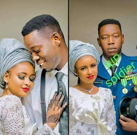 Bride of Nigerian Air Force personnel killed in February marries his elder brother