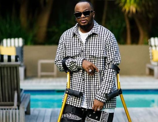 5 times Major League's Bandile made fashion statements with his crutches