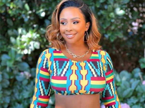 Boity Thulo shows off curly natural hair in new post