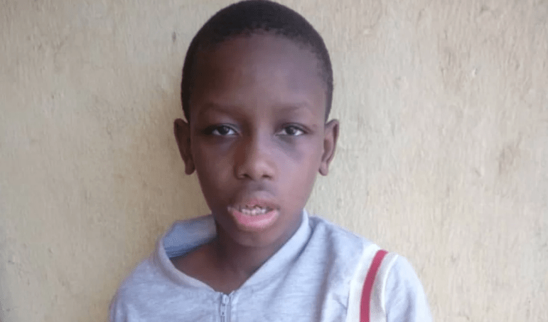 PHOTO: Missing deaf and dumb boy found in Onitsha