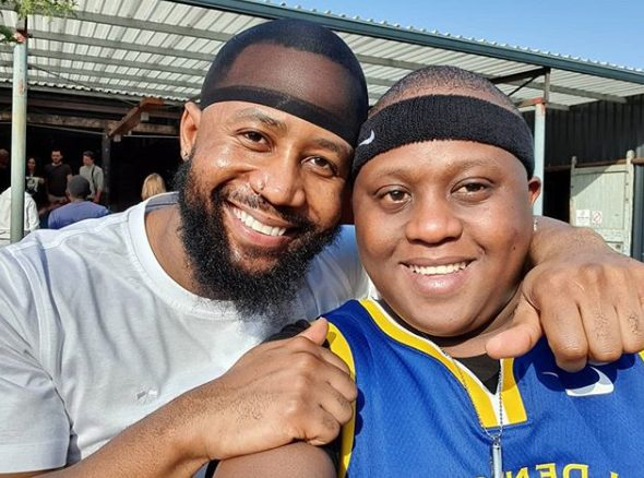 Funny! Cassper Nyovest mocks his bestfriend for falling in the boxing ring (Video)