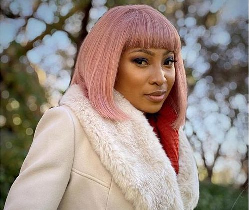 Enhle Mbali now a proud owner of a new luxurious Porsche