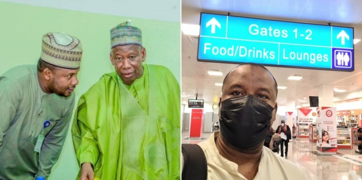 Ganduje's aide who was sacked for criticizing President Buhari relocates abroad after DSS arrest