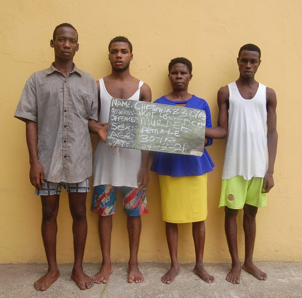 Woman conspires with four others to kill her 19-year-old stepson in Akwa Ibom