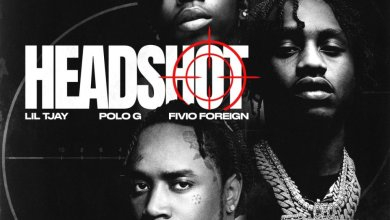 Lil Tjay Ft. Polo G & Fivio Foreign - Headshot