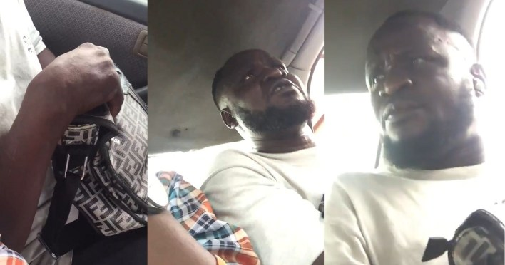 Police disown man videoed masturbating in commercial vehicle in Lagos