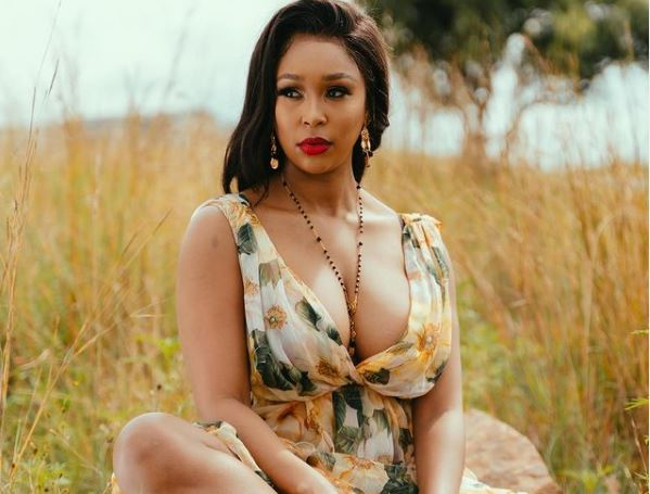 Minnie Dlamini fetches Beyonce from the airport for friend's birthday