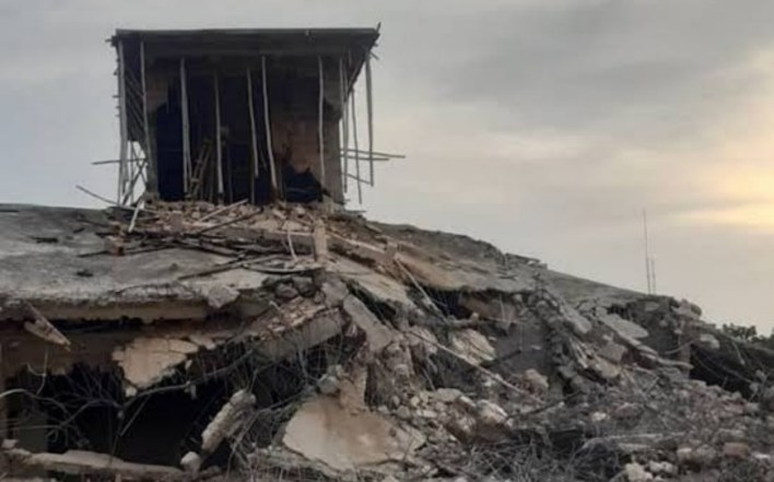 Edo govt demolishes ex-deputy governor's house, two others in Benin