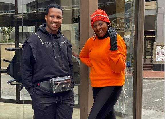 Touching! Shauwn Mkhize hands over huge legacy to son, Andile Mpisane (Video)