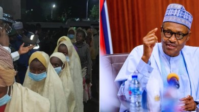 JUST IN: Buhari reacts to release of Jangebe schoolgirls