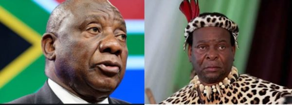Cyril Ramaphosa pays tribute to late King Goodwill Zwelithini