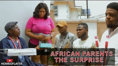 AFRICAN PARENTS the surpriseR