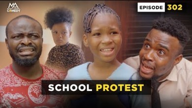 SCHOOL PROTEST - Episode 302 (Mark Angel Comedy)