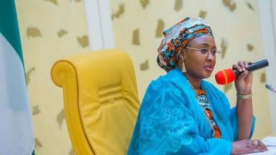 Aisha Buhari breaks silence on incessant abductions, sends message to women