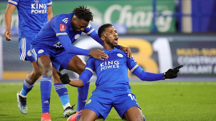 Iheanacho scores twice to help Leicester knock Man United out of FA Cup