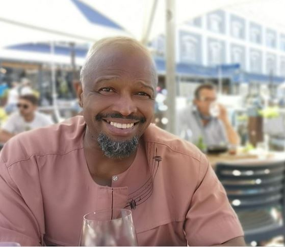 Sello Maake ka-Ncube shows off his newly found love