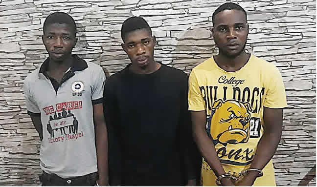 Three arrested for robbing UK returnee, neighbour of valuables worth N14m in Lagos