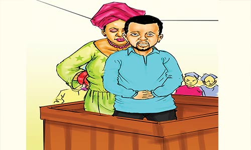 I caught my pregnant wife in bed with her lover, cleric tells court