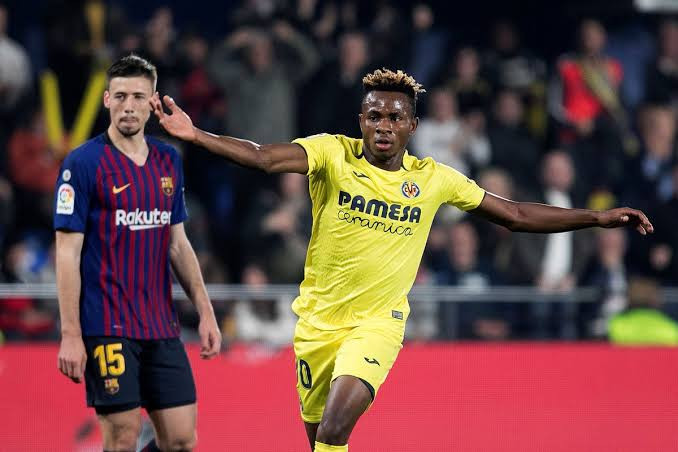 Chukwueze challenges Messi and Courtois for La Liga Player of the Month award