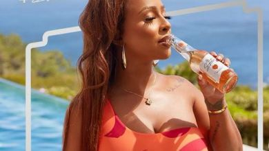 Boity celebrates being the 1st black SA woman to create and own an RTD beverage