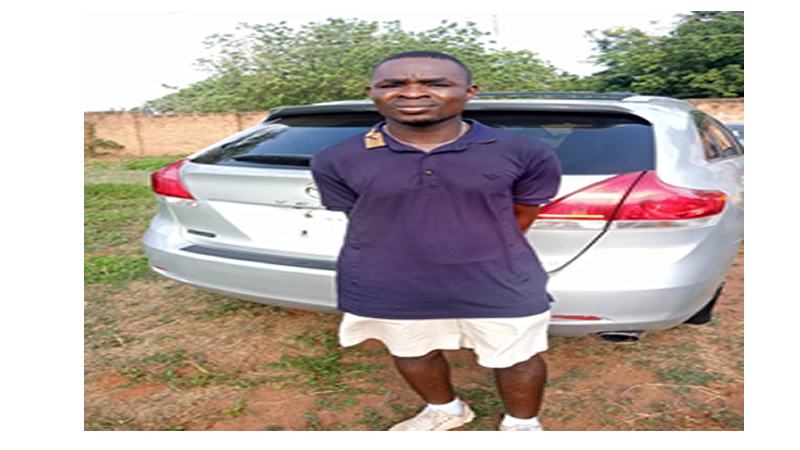 Lagos car wash employee arrested in Ogun after absconding with customer's car