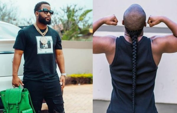 """Please wear your ponytail back,"" frustrated fan tells Cassper Nyovest"