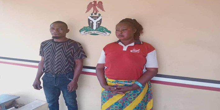 Couple arrested for torturing 12-year-old boy with hot pressing iron in Kogi