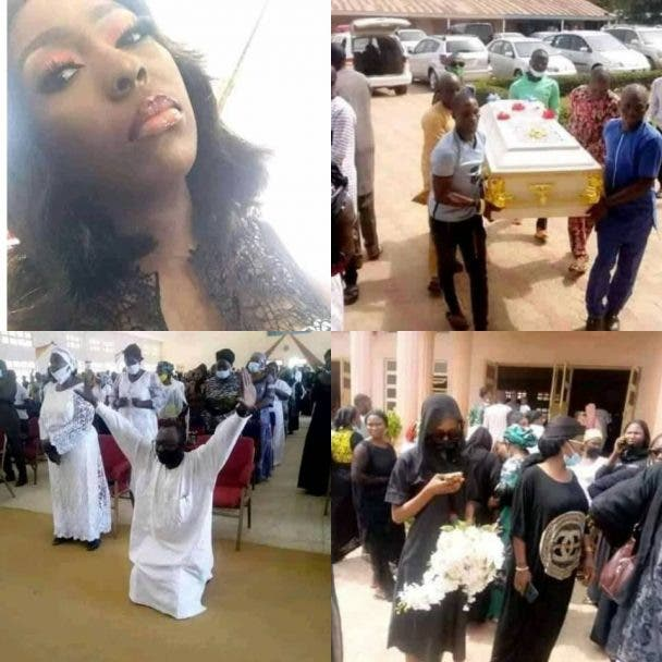 Dorothy Yohanna: Greenfield University student murdered by abductors buried (Photos)
