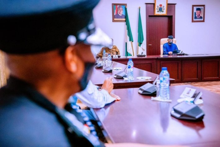 Osinbajo decorates new Inspector General of Police, Usman Alkali Baba [PHOTOS]