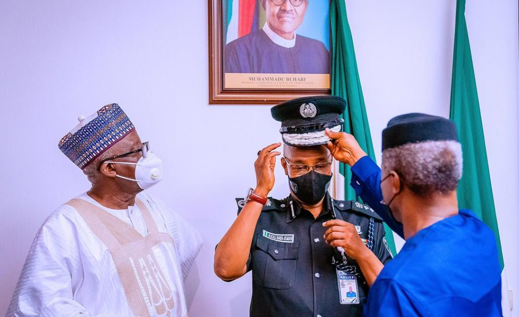 JUST IN: Adamu hands over to acting IGP Baba