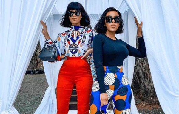 Kefilwe Mabote and Sarah Langa on vacation in Mexico (Photos)