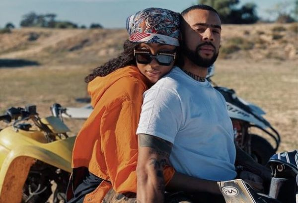 Next power couple? Nadia Nakai and Vic Mensa loved up in Cape Town (Photos)