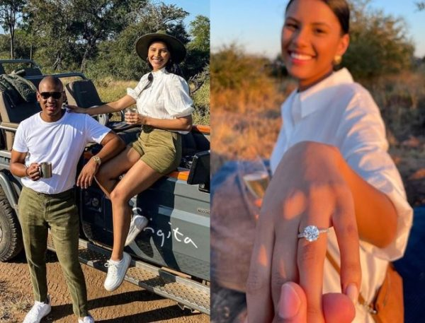 Miss SA 2018, Tamaryn Green is engaged (Photos)