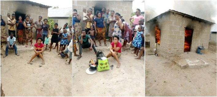 Aggrieved pregnant lady sets boyfriend's room ablaze in Benue