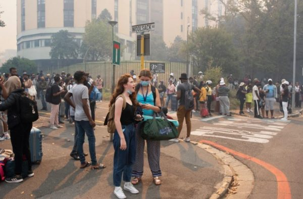 Cape Town's fire outbreak 'out of control'