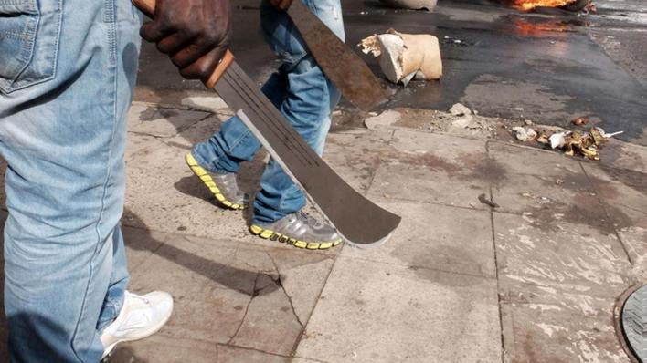 Hoodlums hack guard to death with machete, injure colleague in Lagos