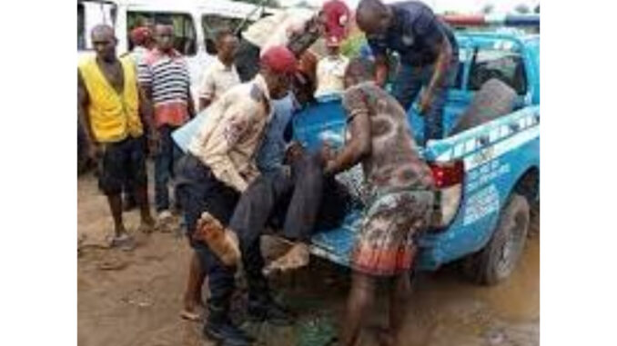 Suspected drunk driver kills one, injures 12 in Anambra
